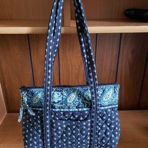 Vera Bradley Handbag Seaport Navy pattern